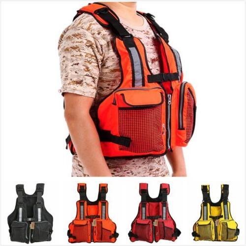 Universal Fishing Life Jacket Kayak Buoyancy Aid