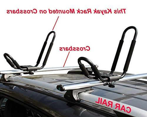 Car Rack Universal Pairs shape Carrier Ski Roof on