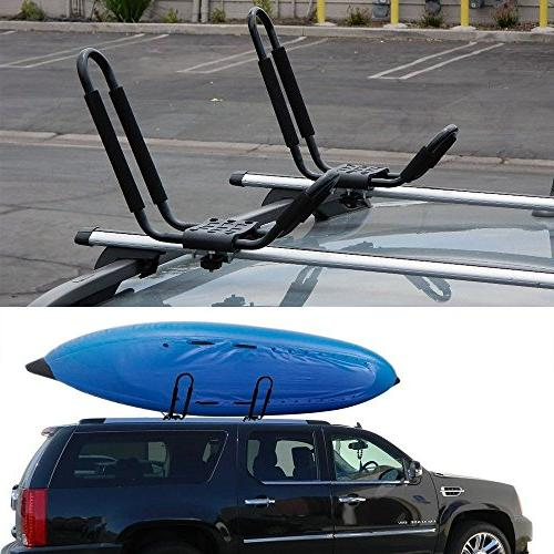 Egreaten Holder pairs-Bar HD Kayak Carrier Canoe Boat Surf Ski Top Car