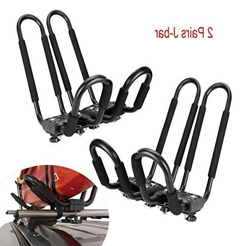 universal kayak rack holder j