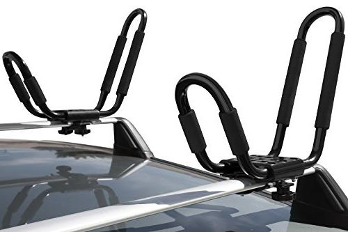 OxGord Kayak Canoe Top Mount for Car SUV Van Truck
