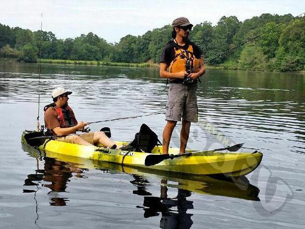 Vibe Skipjack Tandem 3 Kayak+Paddles
