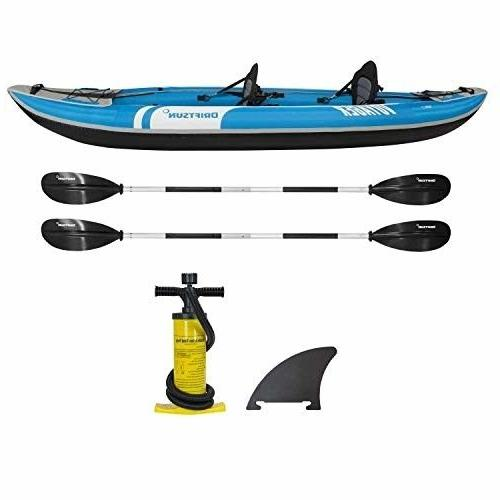 voyager 2 person inflatable kayak complete