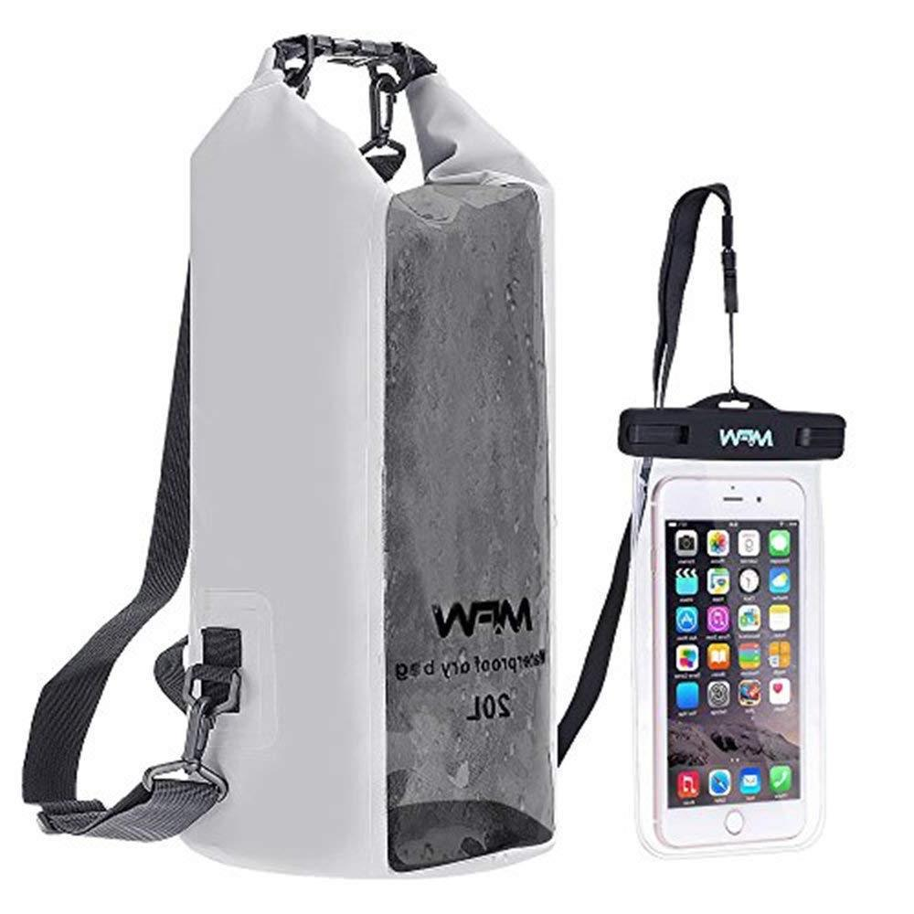 waterproof dry bag backpack 20l with floating
