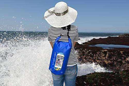 Freegrace Set 3 Bag Lock Shoulder Strap, Waist & Phone - Can Submerged Into Water , 10L)