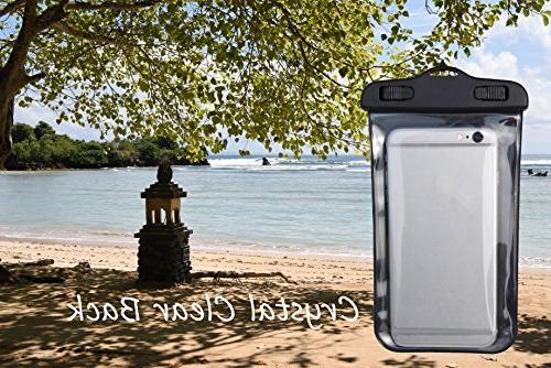 Freegrace Set 3 Bag 2 Zip Lock & Shoulder Waist Pouch & Case Can Be Water , 10L)