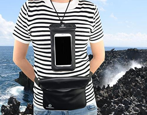 Freegrace Dry Set Bag Lock Seals & Detachable Shoulder Pouch & Case Can ,