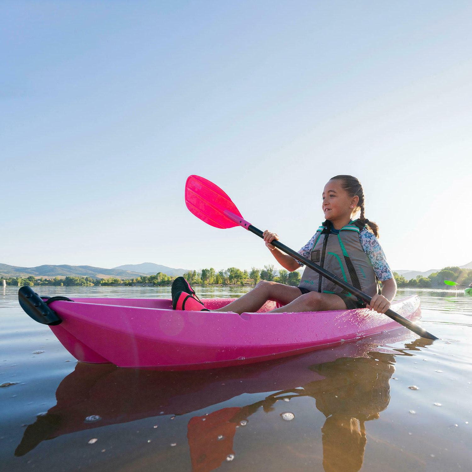 🌸 Youth Kayak with Paddle Lifetime Wave Fast🔥