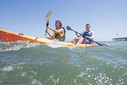 Ocean Zest Expedition Tandem Sit-On-Top Touring Kayak, 5 Inches