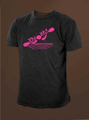 Yak Kayak Paddling T-shirt.
