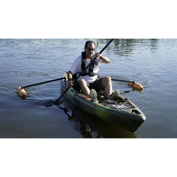 YakGear Outriggers Fishing, Standing &