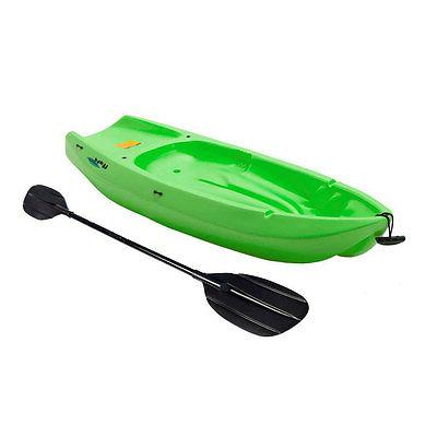 Lifetime Youth Kayak with Paddle, 6 Feet, Green