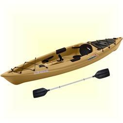 Lake Kayak Sit On Top Flat Water 12 ft Fishing Boat Angler C