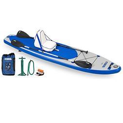 "Sea Eagle LB11 Inflatable 6"" LongBoard Stand-Up Padleboard D"