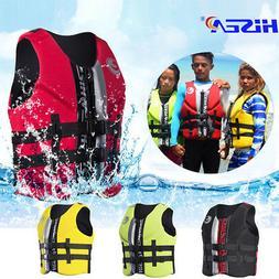 Life Jacket Water Ski Premium Neoprene Vest Wakeboard Kayaki
