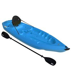 Lifetime 8' Adult Kayak w/ Paddle & Backrest - Blue