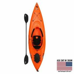 Lifetime Lancer 100 Sit-In Kayak (Paddle Included Canoeing &
