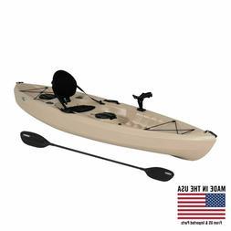 Lifetime Tamarack Angler 100 Fishing Kayak , 90508 Tan