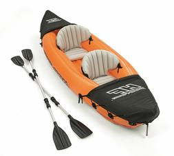 Lite-Rapid X2 Inflatable Kayak Boat Raft with 2 Aluminum Oar