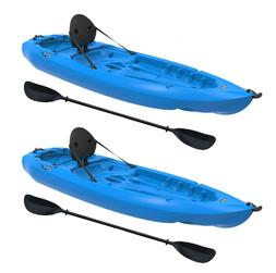 Lifetime Lotus 80 Sit-On-Top Kayak - 2 Pack