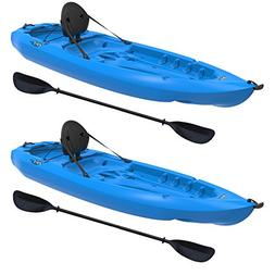 Lifetime Lotus Sit-On-Top Kayak with Paddle , Blue, 8'