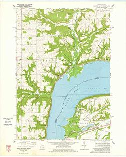 YellowMaps Maiden Rock WI topo map, 1:24000 Scale, 7.5 X 7.5