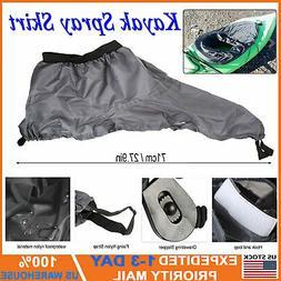 Marine Universal Kayak Spray Skirt Nylon Waterproof Adjustab
