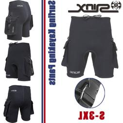 Men's 3mm Neoprene Scuba Diving Shorts & Pockets Surfing Kay