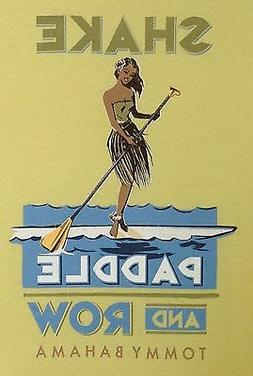 TOMMY BAHAMA Men's T-Shirt - SHAKE PADDLE ROW - Paddling Kay