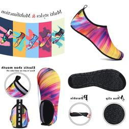 Mens Womens Quick Dry AQUA Socks Lightweight Breathable Beac