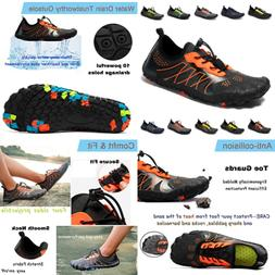 Mens Womens Water Shoes Quick Dry Barefoot AQUA For Beach Sw