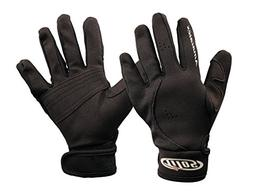 Tilos 1.5mm Amara Palm Mesh Tropical Gloves Black, L