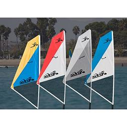 Hobie Mirage Kayak Sail Kit 2017, White-Turquoise