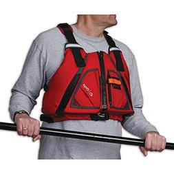 Onyx Outdoor Movevent Torsion Vest-Red XS/SM