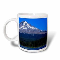 3dRose mug_251374_1 Oregon, Trillium Paddlers on Lake in Fro