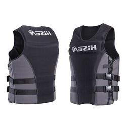Neoprene Life Vest Surfing Boating Kayak Jacket Swimming Swi
