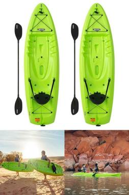 NEW - 2 Lime green Kayaks! Volt 8.5' Sit on Top Kayak, 2-p