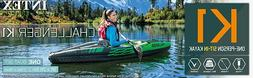 New Intex Challenger K1 Inflatable Kayak -1 Person Kayak Set