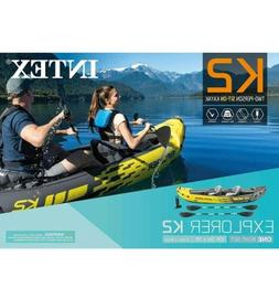 ⭐️NEW⭐️ Intex Explorer K2 Kayak 2-Person Inflatable