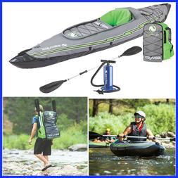 Sevylor Quilpak K5 1-Person Kayak, Easy Inflation/Deflation