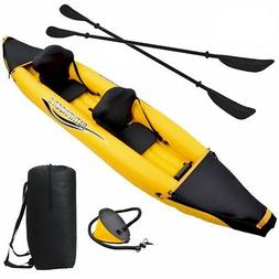 Blue Wave Sports Nomad 2-Person Inflatable Kayak, Gold