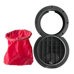 Nylon Hatch Cover Pull out Deck Plate w/Waterproof Bag for M