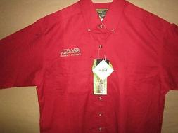 Old Town Canoes & Kayaks Button Front Shirt River Rafting Pa