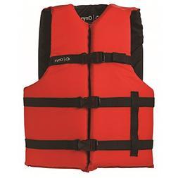 ONYX General Purpose Boating Life Jacket, Adult Oversize Siz