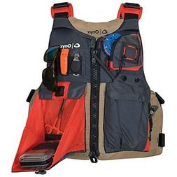 Onyx Kayak Life Jackets & Vests Fishing Jacket, One Size, Ta