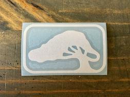 Bending Branches Paddle Vinyl Decal Sticker - Kayak Canoe Ra