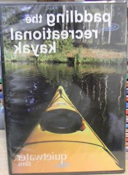 paddling the recreational kayak new dvd darren