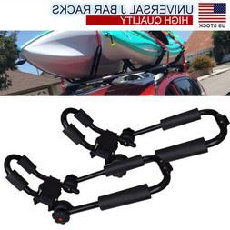 Pair Universal Canoe Kayak Roof Rack For SUV Car Top Mount C