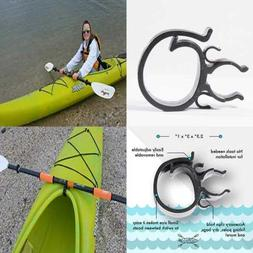 Patented Clip On Removable Kayak Paddle Holder Convenient Ac