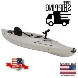 "Lifetime Payette 116"" Angler Kayak, Sandstone, 90235 - FREE"